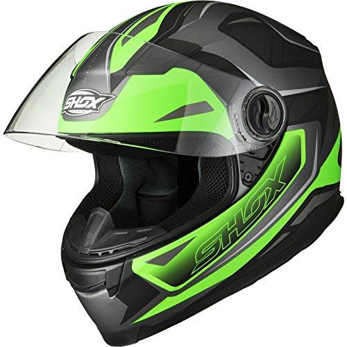 Shox Sniper Spear Motorradhelm XL matt grün
