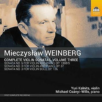 Weinberg: Complete Violin Sonatas, Vol. 3