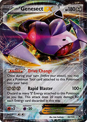 Pokemon - Genesect-EX (64/124) - XY Fates Collide - Holo