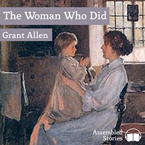 The Woman Who Did audiobook cover art