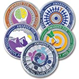 AttaCoin - 5 Coins - Employee, Coworker, Office Staff Appreciation Gifts - Motivation and Recognition Award (5 Pack, 5 Coin Variety Pack)