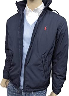7156f9464818 Polo Ralph Lauren Men s Pony Perry Lined Jacket Coat Big and Tall Aviator  Navy Blue