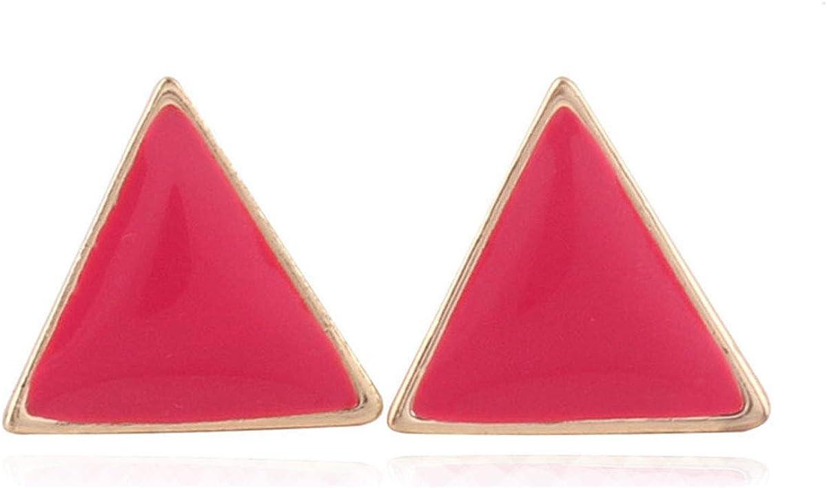 GRACE JUN Gold Color Enamel Clip on Earrings Luxury Fashion No Hole Earrings