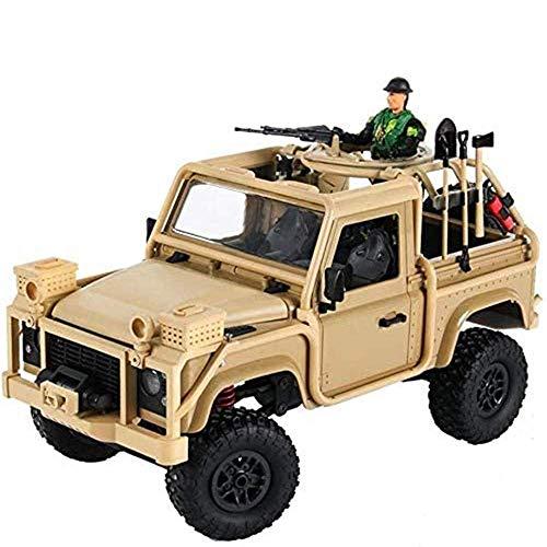 Los juguetes sensoriales manejan el control remoto del vehículo fuera de la carretera, el modelo de simulación de todo terreno 1/12 con robot para aumentar el interés al aire libre de los niños