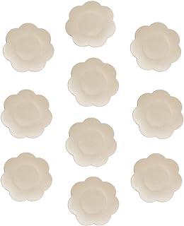 40 Pairs Breast Pasties for Women Adhesive Disposable Nipple Covers Petal