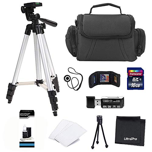 Professional Camera Accessory Kit for Canon, Nikon, Sony, Panasonic and Olympus Digital Cameras. Bundle Includes 10 Must-Have Accessories
