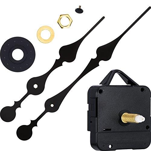 Hicarer 31 mm Uhrwerk mit Hohem Drehmoment und langem Wellenuhrwerk mit 2 Spatenhänden zum Einsetzen von Skalen bis zu 51,4 cm/ 20 Zoll im Durchmesser