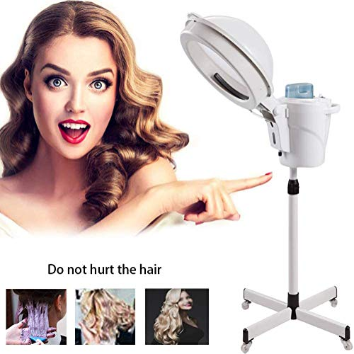 ZNXY Concise Home Cheveux Vapeur Supporter Up Cheveux Couleur Processeur avec Capuche Roulant Base Salon Coiffeur Beauté Spa Salon de Coiffure Maison Spa