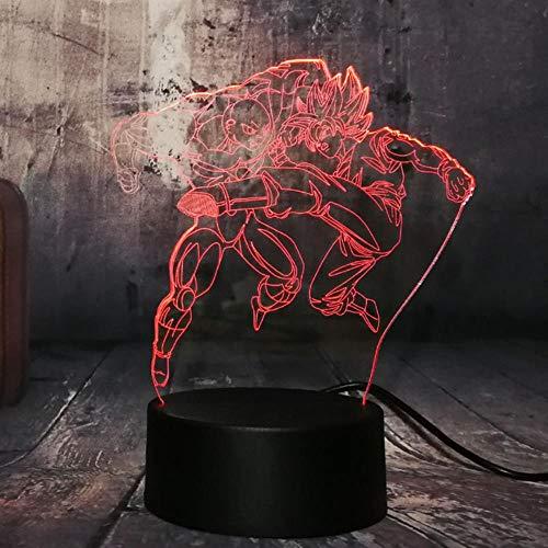 3D Lamp Dragon Ball Z Goku Figure Children