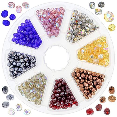 10pc 4558550088765 Perles Céramique Porcelaine Boules 10mm Vert Olive kaki