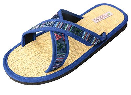 Zimtlatschen Nawemo ''Indian-Style'', Blau, 42/43 EU
