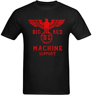 Men's Support 81 Big Red Art Design T-Shirt