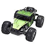 Daily Equipment Desert Rock Climbing Truck 1:12 60Km/h RC Remote Control Off Road Cars Vehicle 2.4Ghz Crawlers Electric Monster RC Big Foot Car Toy for Children Gift (Color : Orange Size : 3battery