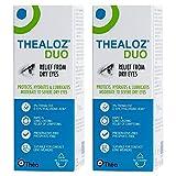 2 x Thealoz Duo Gotas Para Ojos 10ml NUEVO