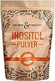 Inositol Pulver - 500g Pulver - Vegan - Frei von Zusatzstoffen - Inosit, Myo-Inositol - Mit Extra Messlöffel - Eigene Produktion