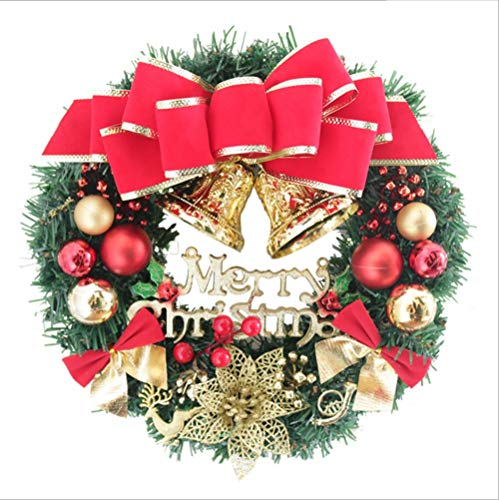 GYH Guirlande de Noël 30/40 / 50cm Décorations de Noël /& (Taille : 40cm)