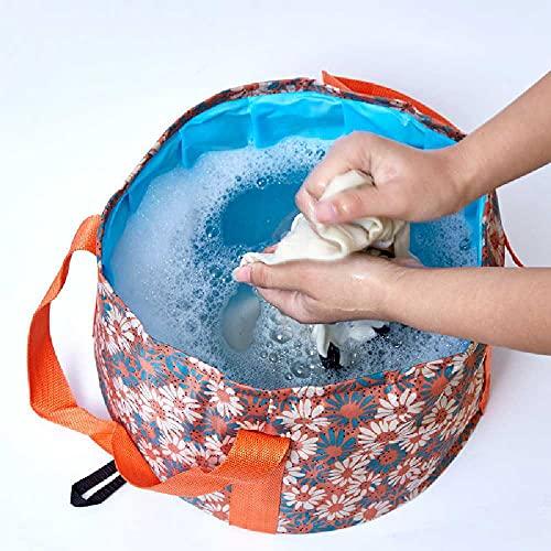Il contenitore pieghevole portatile compatto di acqua pieghevole di alta qualità di N\C è leggero e durevole
