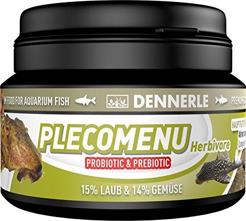 Dennerle Pleco Menu Herbivore 100 ml - Futter für Welse