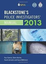 Blackstone's Police Investigators' Manual 2013