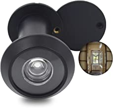Door Viewer Peephole, Solid Brass 220-degree Door Viewer with Heavy Duty Rotating Privacy..