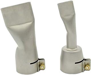 2個の溶接ノズルに対してライスター/ Bakの熱い空気熱が20mmと40mmのフラット溶接ノズル 便利な溶接部品 (Caliber : Other, Power : 60W)