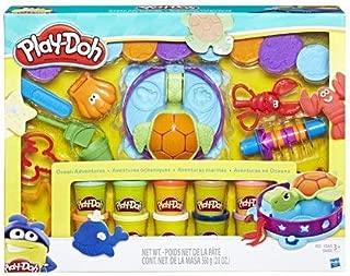 Play-Doh Ocean Adventure Mega Set with 10 Pack of Dough & 20 Tools