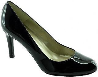 25a788430dd96d Angelina® Meli Escarpins Bout Rond Talon Haut Aiguille Chaussures Petite  Pointures Femme Marque Cuir Vernis