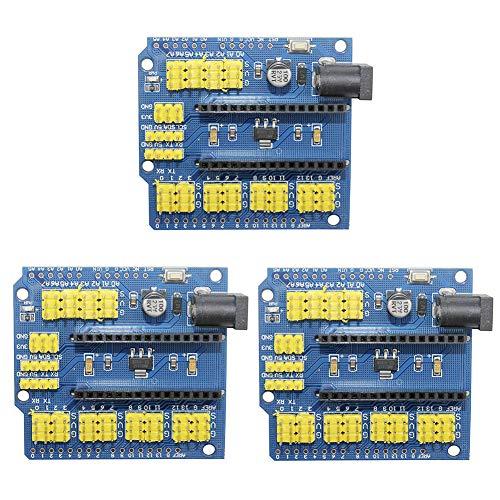 IZOKEE 3PCS I/O Shield Tarjeta de Expansión Modulo per Arduino Nano