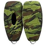 kwmobile Funda Compatible con Ford Llave de Coche Keyless Go de 3 Botones - Carcasa Protectora Suave de Silicona - Camouflage