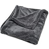 Detailers United - Hydro Hoover - Professional Grade Plush Microfibre Car Drying Towel 1400GSM (40 x 40)