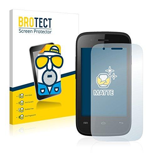 BROTECT 2X Entspiegelungs-Schutzfolie kompatibel mit Wiko Ozzy Crazy Phone Bildschirmschutz-Folie Matt, Anti-Reflex, Anti-Fingerprint