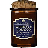 Whiskey and Tobacco Spirit Candle, Brown, (5 oz)