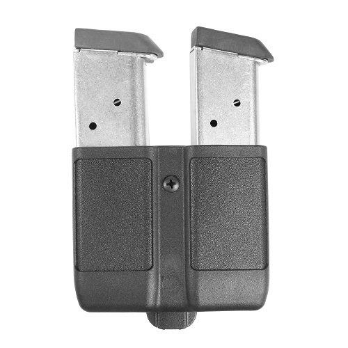 BLACKHAWK! Modular 410510PBK Double Mag Case Single Stack Polymer