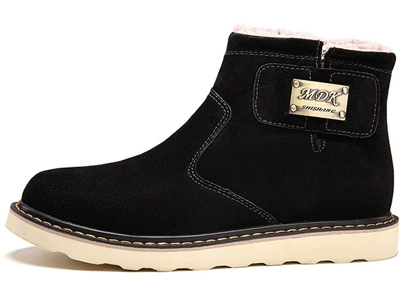 廃止枯渇するレキシコンスノーシューズ ブーツ メンズ 防滑 防水 防寒のスノーブーツ 雪靴 アウトドア 通勤用