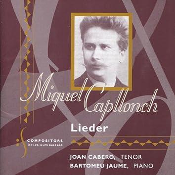 Capllonch: Lieder