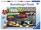 Ravensburger 09515, Day at The Races 60 Piece Puzzle for Kids, Every Piece is Unique, Pieces Fit Together Perfectly, 14.25