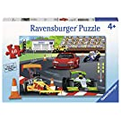 Ravensburger 09515, Day at The Races 60 Piece Puzzle for Kids, Every Piece is Unique, Pieces Fit Together Perfectly
