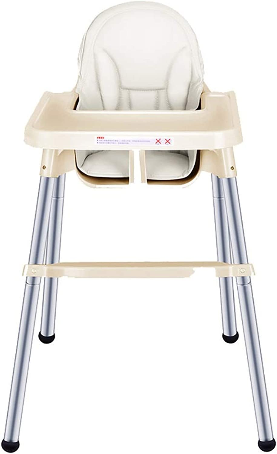 High Chair, Baby And Toddler High Chair, Baby High Chair And Booster - (gold) (Design   B)