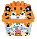 Mega Bloks Animal Buckets Tiger