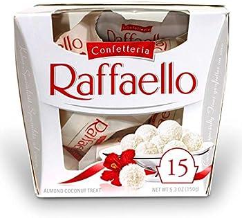 6-Pack Ferrero Raffaello Almond Coconut Candy Boxes (15-ct boxes)