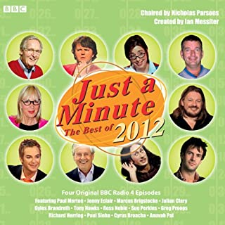 Just A Minute: The Best of 2012 cover art