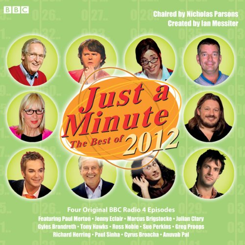 Just A Minute: The Best of 2012 audiobook cover art