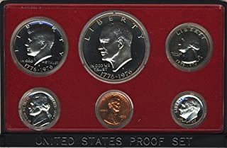 1975 S Clad Proof 6 Coin Set in Original Government Packaging Proof