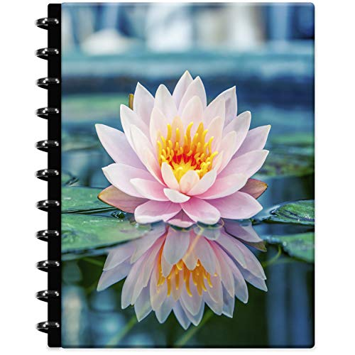Tools4Wisdom Customizable 2021 Planner - 2021 Calendar - Discbound Disc Planner 2021 w/Full-Color Refillable Daily Planner Pages - 8.5 x 11 Hard Cover - Q4Disc