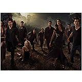 HYLLVC 1000 Piezas de Rompecabezas para Adultos Vampire Diaries Character Puzzle de 1000 Piezas para Adultos y niños Poster Juego Familiar cooperativo desafiante y Divertido (52x38cm)