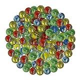 ARSUK Canicas Marbles Protección contra daños para Juguetes Deportivos y al Aire Libre (Color Marbles_40pcs)