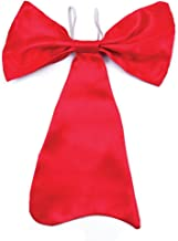 Bristol Novelties Bow Tie. Large Red