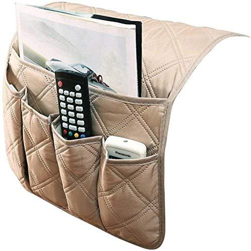 QAZX Sofa, Stuhl, Sofa Armlehne Organizer, 5 Taschen Anti-Rutsch-Sessel Aufbewahrungstasche, passend for Tablet, Telefon, Pad, Buch, Zeitschriften, TV-Fernbedienung
