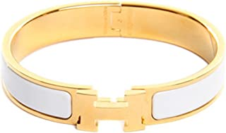 Z.RACLE 12MM H Buckle Bangle Bracelets Women