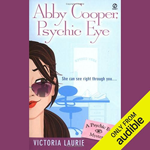 Abby Cooper, Psychic Eye audiobook cover art